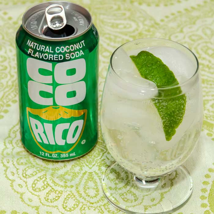 Coco-Rico (Coconut-Flavored Soda)