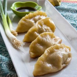 Pork & Prawn Potstickers (aka Asian Dumplings)