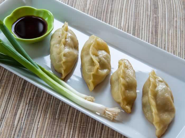 Prawn & Pork Potstickers (aka Asian Dumplings)