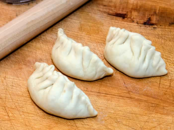 Hand-Shaped Potstickers