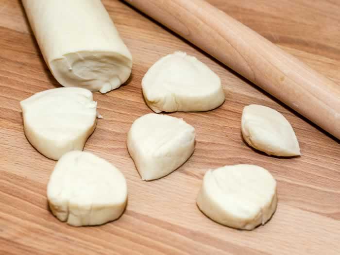 Cutting Potsticker Dough