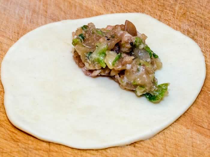 Filling Wrappers for Pork & Prawn Potstickers (aka Asian Dumplings)