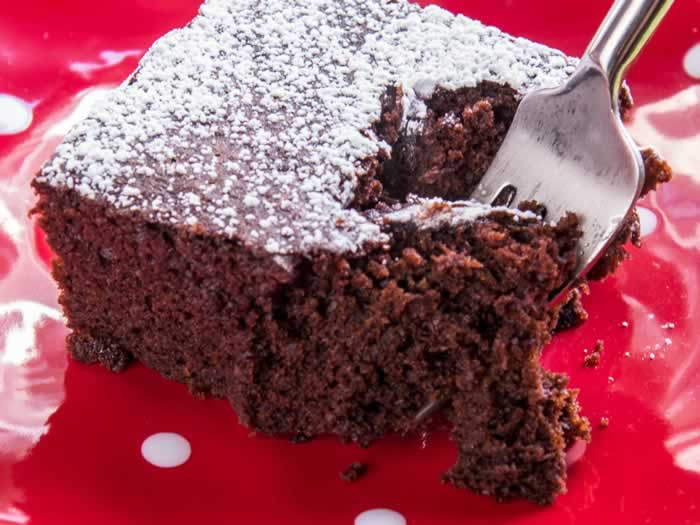 Chocolate Cake Serving 2
