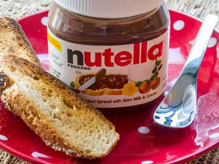 Storebought Nutella