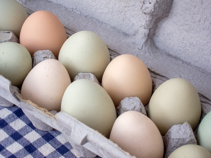 Portland Farmers Market Opening Day 2014: Farm Fresh Eggs