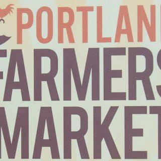 Portland Farmers Market Opening Day 2014