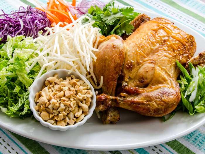 Ingredients for Vietnamese Chicken Salad