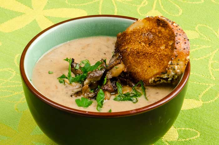 Really Wild Mushroom Soup: Two Fabulous Ways