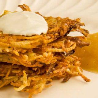 Not My Grandma's Latke (Potato Pancakes)
