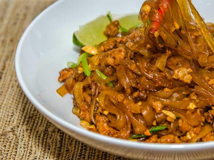 Ants Climbing a Tree (Spicy Pork & Orange Cellophane Noodles) | LunaCafe
