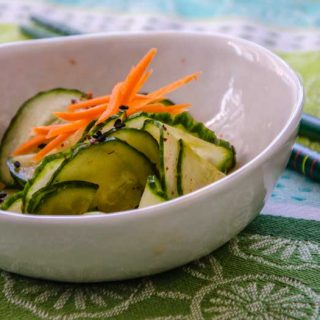Spicy Asian Cucumber Salad