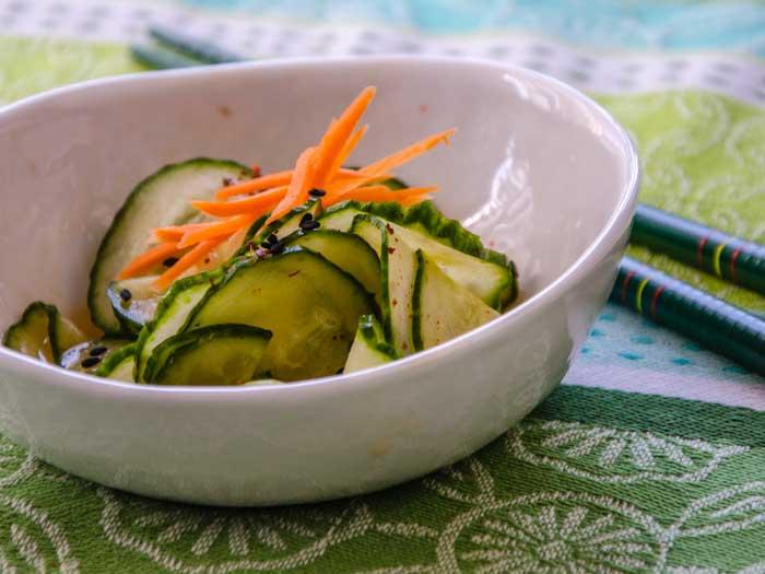 Spicy Asian Cucumber Salad