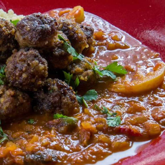 LunaCafe Top Posts 2014: Spicy Tunisian Tomato Sauce with Olives & Preserved Lemons