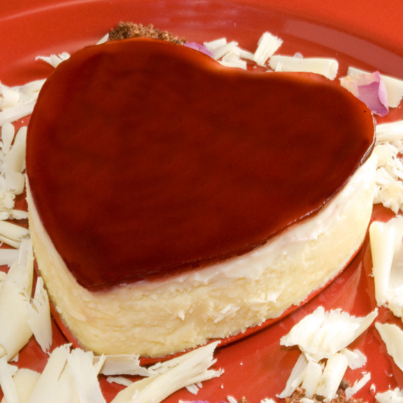 10 Super Easy Chocolate Dream Cakes: White Chocolate & Raspberry Rose Petal Cheesecake