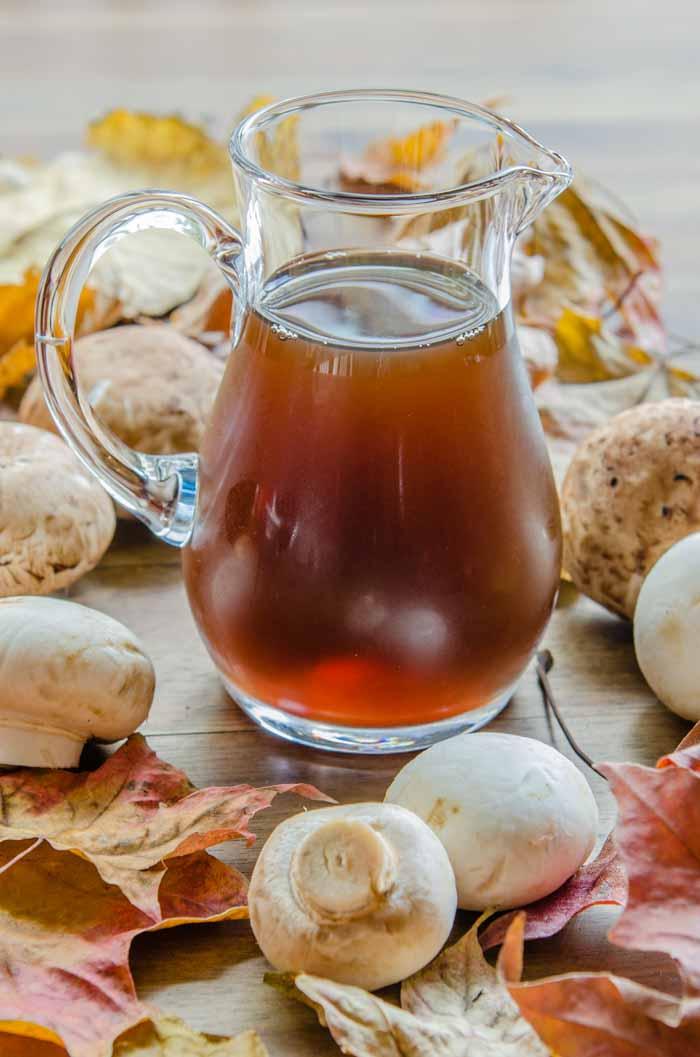 Carmelized Mushroom Stock