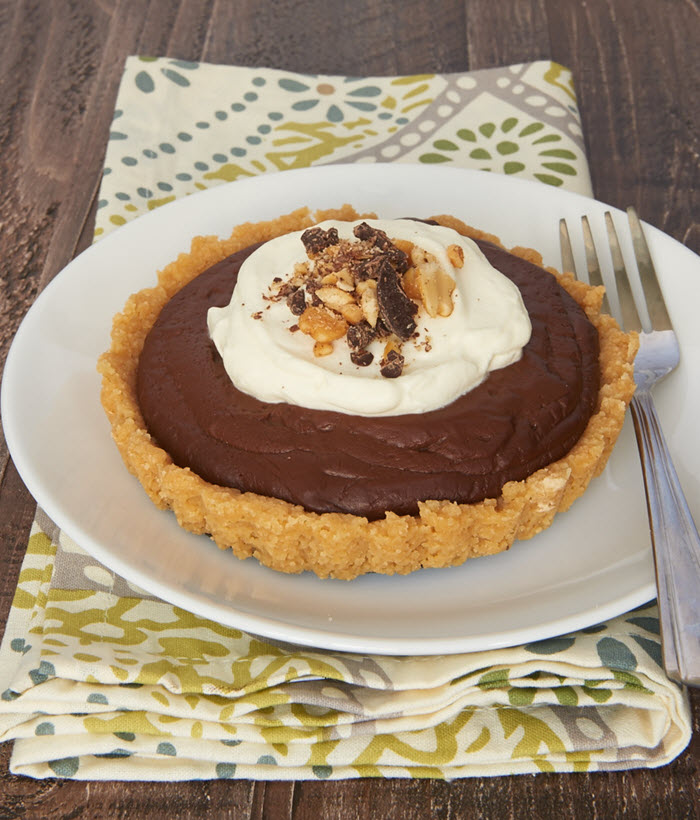 Chocolate Peanut Butter Pudding Tarts | Bake or Break
