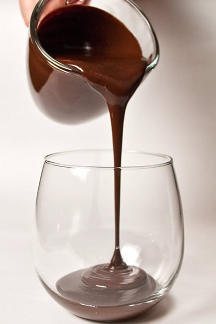 Salted Bittersweet Chocolate Sauce Par Excellence