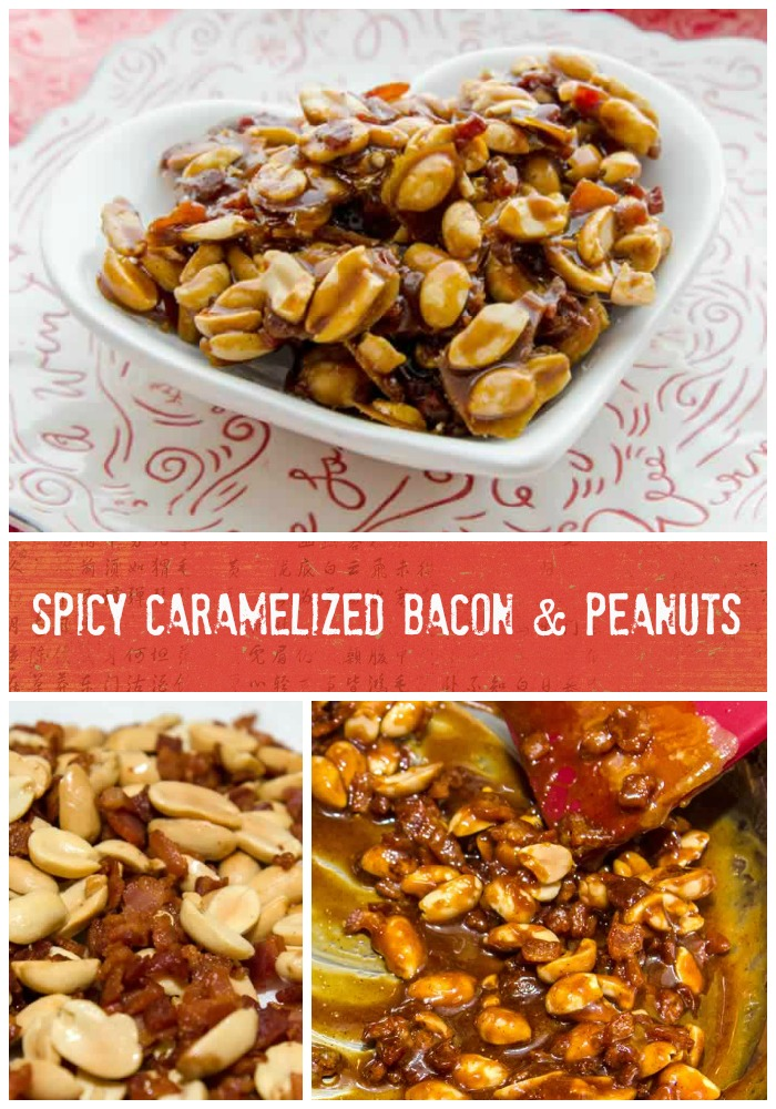 Spicy Caramelized Peanut & Bacon