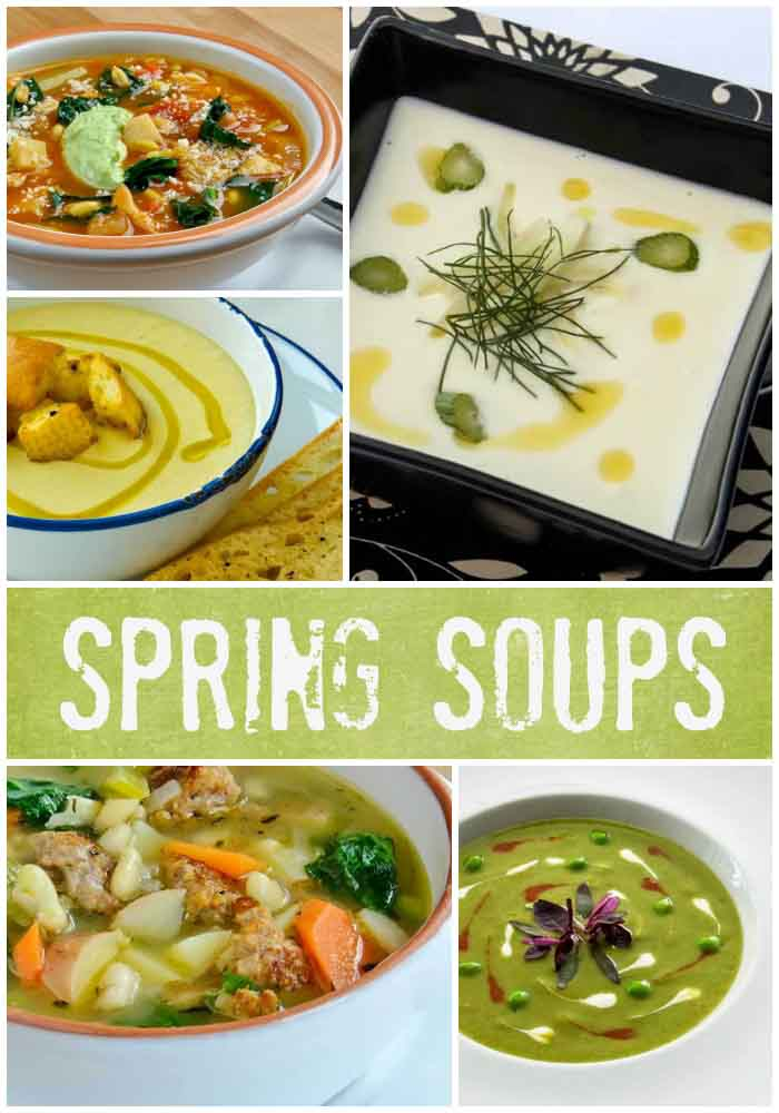 Spring & Summer Soup Recipe Index