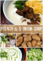 Potato & 5 Onion Soup | LunaCafe