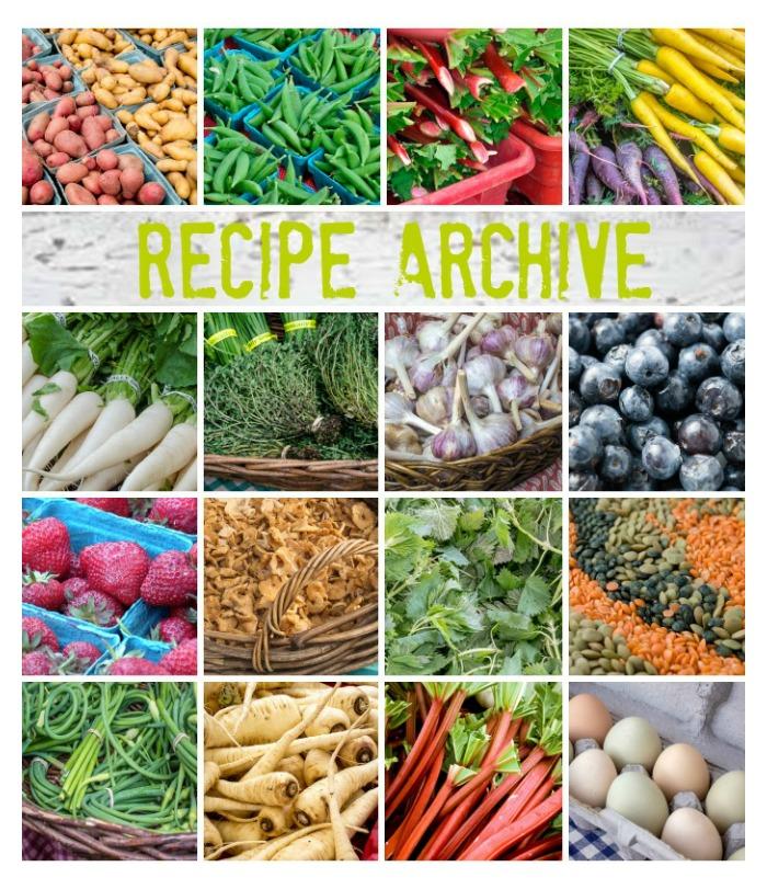 Master Recipe Archive
