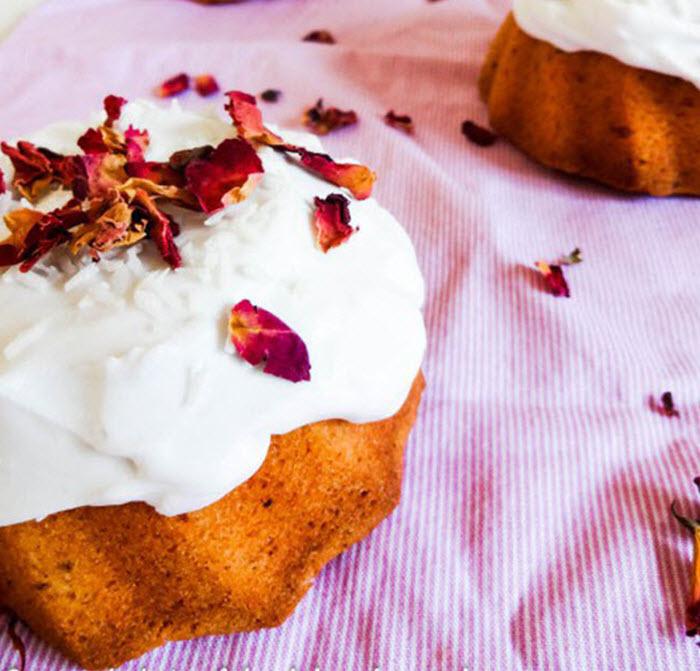 Flavor Pairing: Rhubarb + Rose | LunaCafe