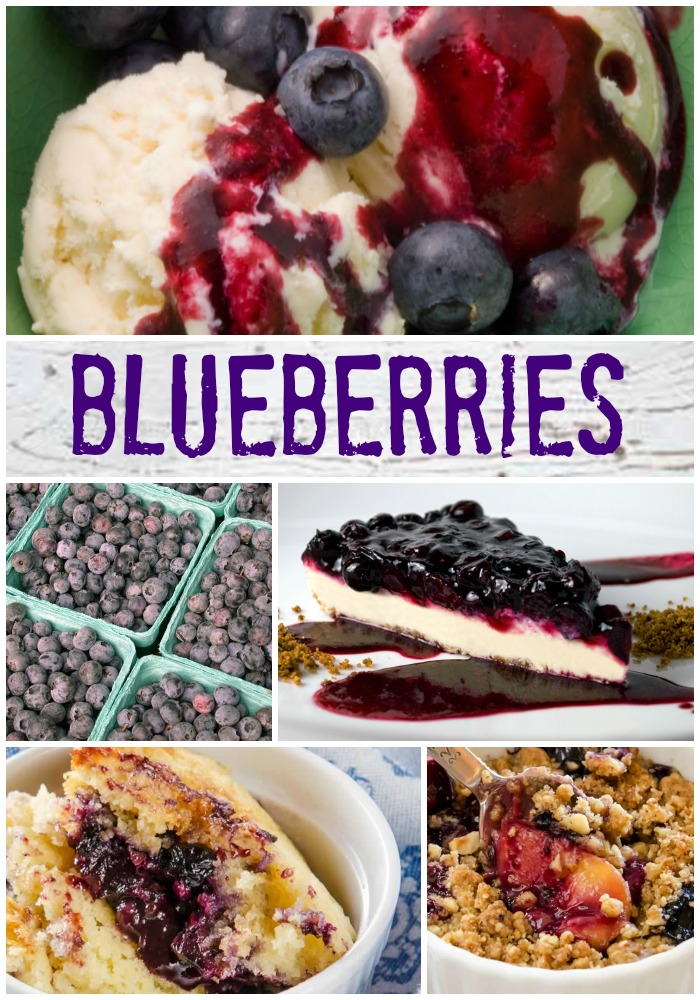 Blueberries Recipe Archive | LunaCafe