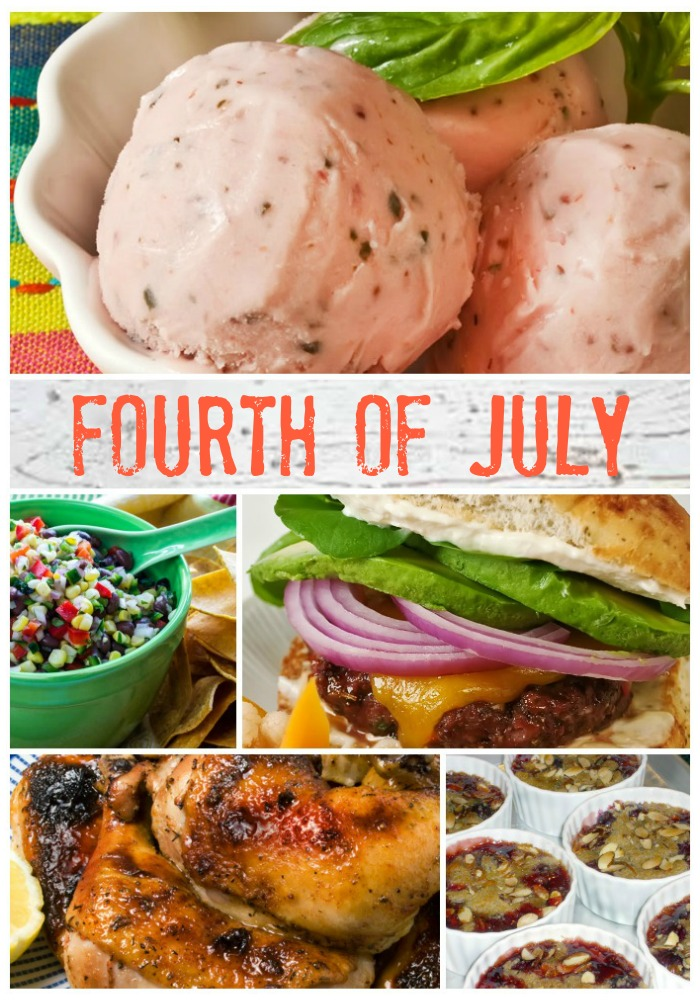 Forth of July Recipe Index | LunaCafe