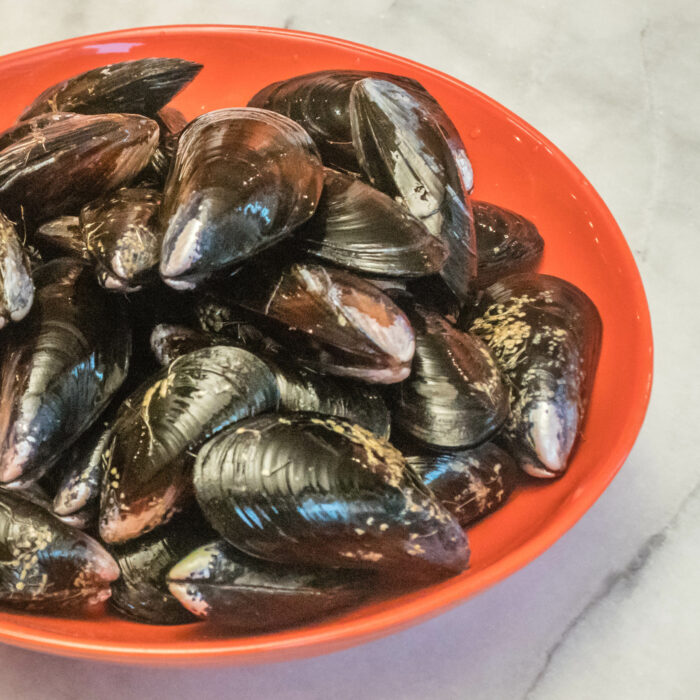 Northwest Mussel Bourride with Aioli | LunaCafe