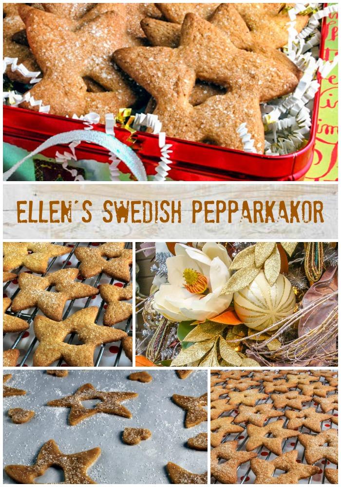 Ellen's Swedish Pepparkakor | LunaCafe