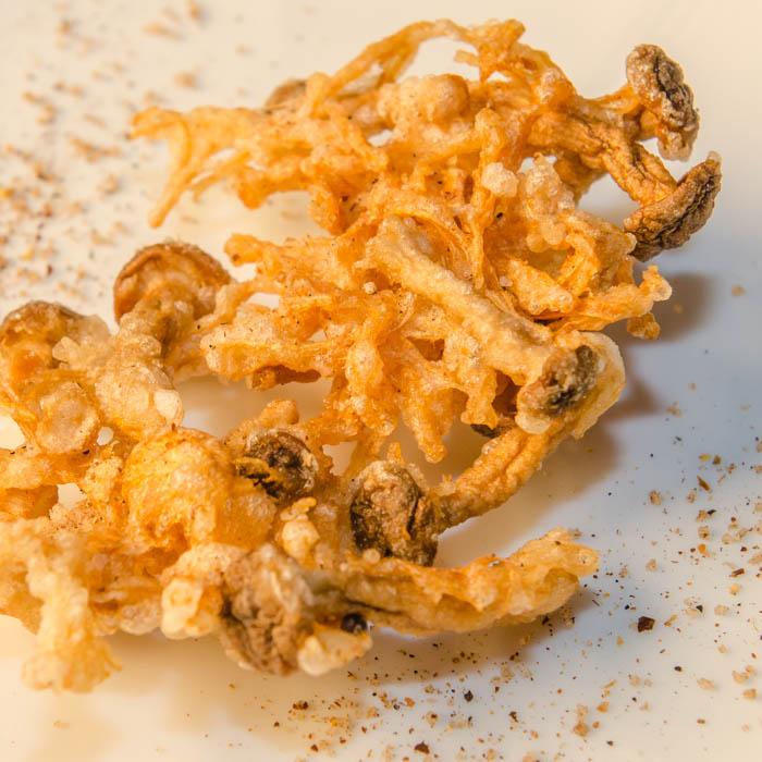Sichuan Tempera-Fried Wild Mushrooms   LunaCafe