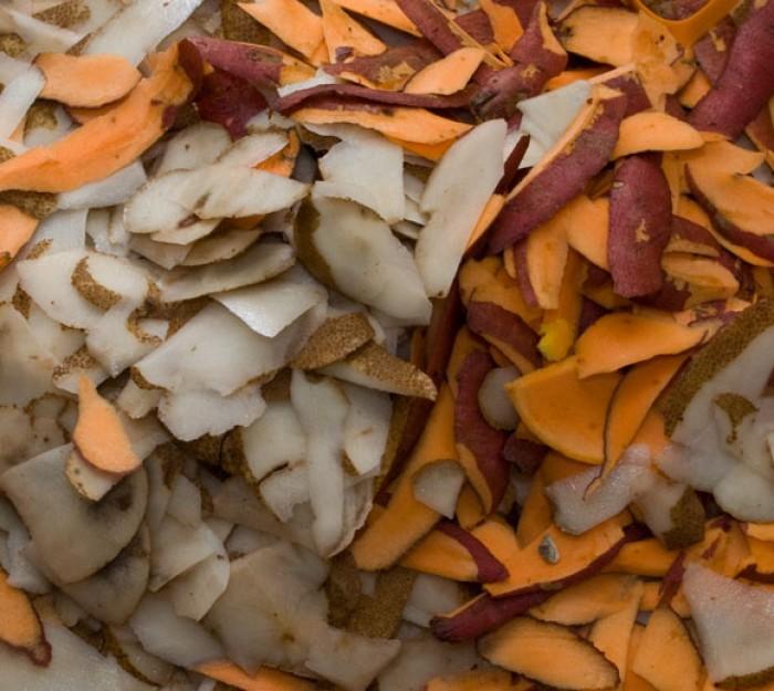 Perfect Mashed Potatoes: Potato and Yam Peels